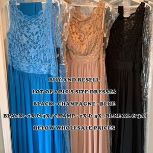 "Lot 6 ""SoSpecial"" Dresses Plus Lace Chiffon $500"